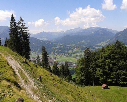 Wallraffweg bei Oberstdorf