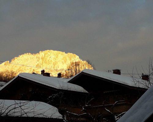 Hirschberg in der Abendsonne