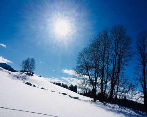 Auf dem Weg zur Straußberghütte